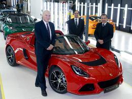 Lotus reçoit 10 millions de £ de subvention et embauche plus de 300 personnes