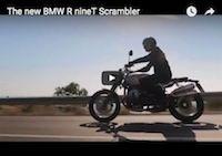 The new BMW R nineT Scrambler  video