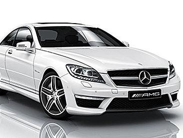Mercedes CL restylée : en avance