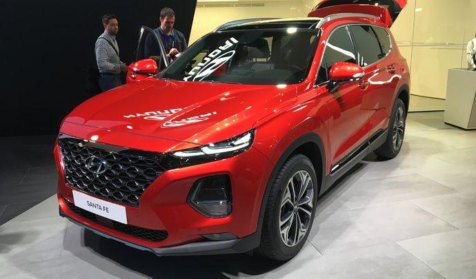Hyundai Santa Fé : il va falloir patienter - Vidéo en direct du salon de Genève 2018