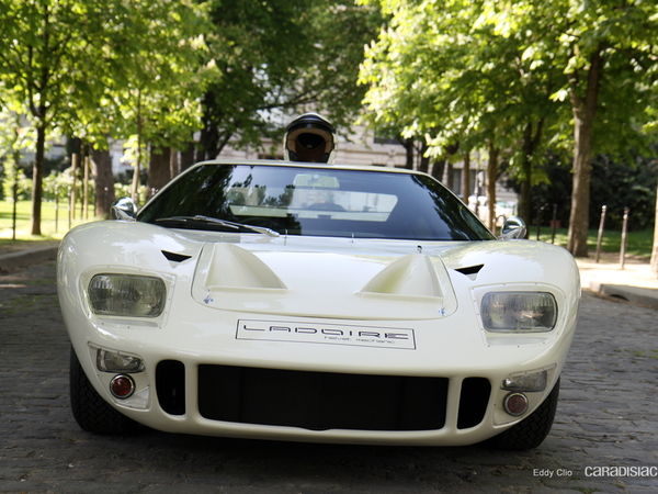 Photos du jour : Ford GT 40