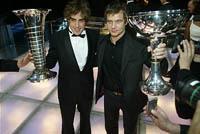 Remise de prix pour le Renault F1 Team