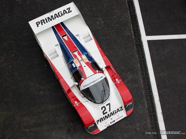 Photo du jour : Porsche 962 C
