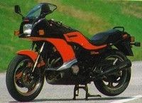 1983-1985: KAWASAKI GPZ 750 TURBO
