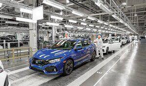 Honda arrête la production dans la plupart de ses usines américaines