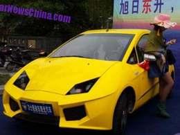 Insolite : voici la Lishededidong Urban Supercar, une électrique chinoise aux lignes de Lamborghini Aventador