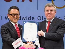 Toyota choisit la forme olympique