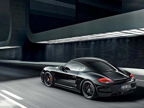 Porsche Cayman S Black Edition : 69 166 €uros, 330 cv et 500 exemplaires