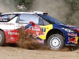 Sébastien Loeb mène en Sardaigne