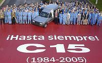 Adieu le C15 !