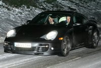 La Porsche 911 Turbo (Type 997) prise sur le vif !