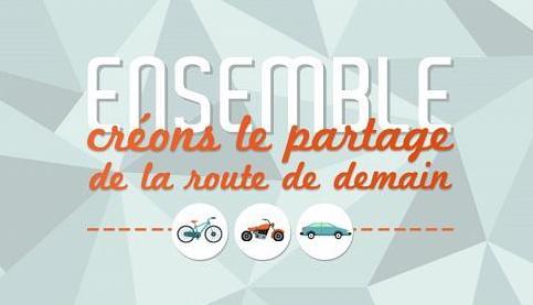 Journée nationale du partage de la route: la tolérance avant toute chose!