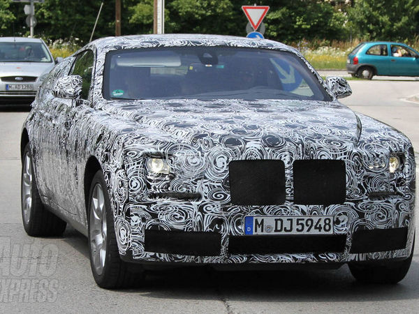 La future Rolls-Royce Ghost coupé surprise en test