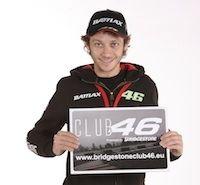 Bidgestone et Rossi: le club46, c'est à vous de jouer