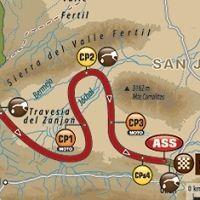 Dakar - étape 11 : le parcours du jour
