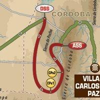 Dakar - étape 12 : le parcours du jour