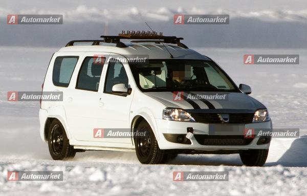 Futur monospace Dacia: Pour le moment il ressemble à une Logan MCV...