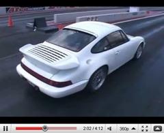 Réveil Auto - à 380 km/h en Porsche 964 de 1200ch