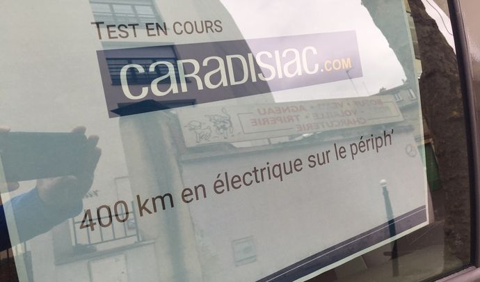 400 km en Renault Zoé ZE40 en une seule charge » dit la pub
