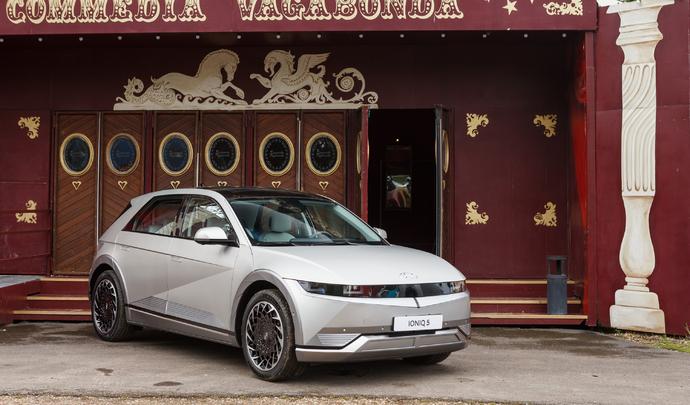 Hyundai Ioniq 5 : à la pointe de la techno - Salon Caradisiac Electrique/hybride 2021