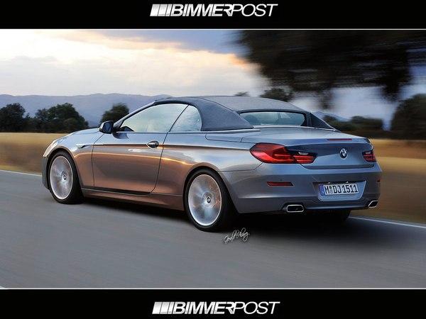 Prochaine BMW Serie 6 Cabriolet  : comme ça ?