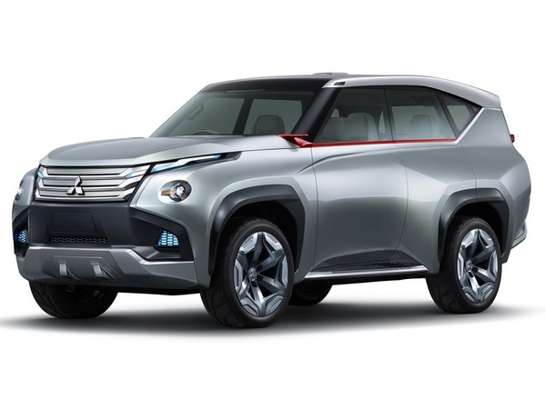 Tokyo 2013 : Mitsubishi GC-PHEV, futur Pajero/Montero