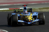 Journée d'essais pour Renault à Jerez