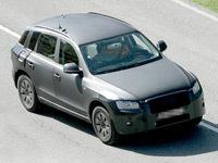 Audi Q5 sans cagoule