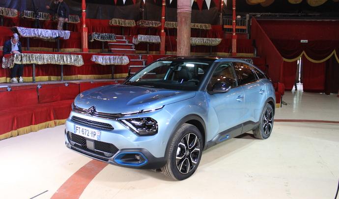 """Citroën ë-C4 : la """"vraie"""" électrique de Citroën - Salon Caradisac Electrique/Hybride 2021"""