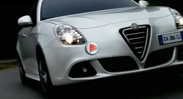 [Vidéo] L'Alfa Romeo Giulietta fait sa promo