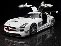 Mercedes SLS AMG : en version GT3, c'est joli aussi