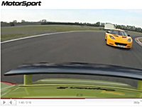 [vidéo] Motorsport oppose Porsche Cayman R et Lotus Evora S