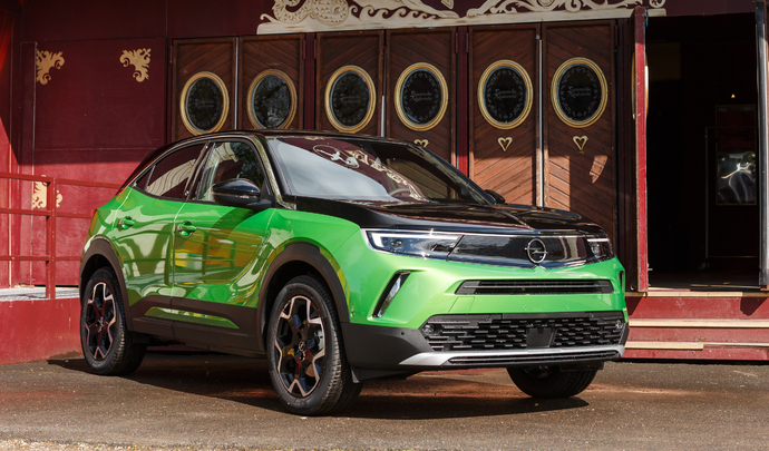 Opel Mokka-e: rétrofuturiste - Salon Caradisiac Electrique/hybride 2021
