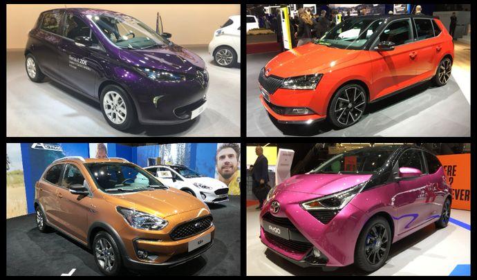 Skoda Fabia et Toyota Aygo restylées, Renault Zoe : les nouvelles citadines du salon de Genève 2018 en vidéo