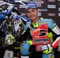 Championnat du monde Supermotard 2014, round 1: Thomas Chareyre prend l'avantage