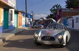 Carrera Panamericana : les Mercedes Gullwing mère et fille dans la course