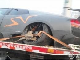 Lamborghini Murcielago LP670-4 Super Veloce China Edition : une de moins