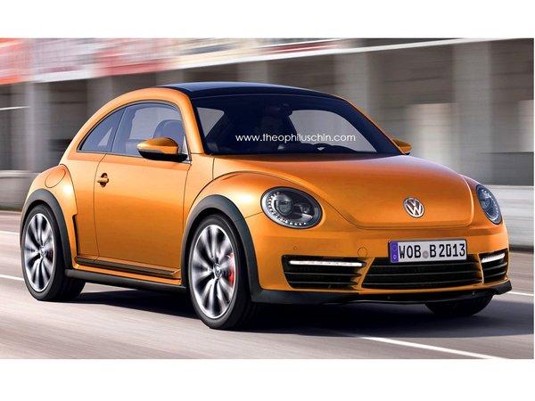 Future VW New Beetle R : comme ça ?