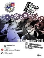 Calendrier : la Vespa parade, le 15 septembre 2012