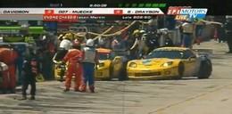 [Vidéo] L'accident ridicule entre les deux Corvette aux 12 Heures de Sebring