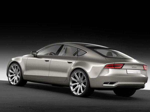Détroit 2009 : Audi Sportback Concept, l'Estoque aux anneaux (ajout photos et vidéo)
