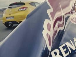 Renault, champion du monde de F1 fait sa pub