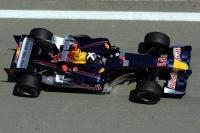 Premiers tours de roue pour Red Bull Racing
