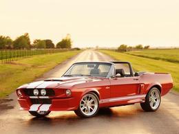 Commandez votre Shelby GT500 cabriolet grâce à Classic Recreations