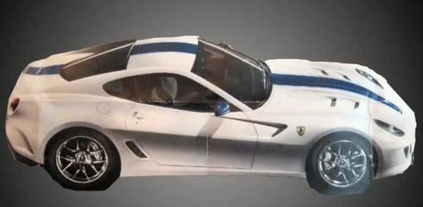 Ferrari 599 GTO : c'est elle !