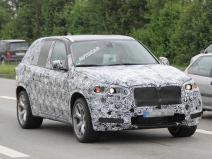 Futur BMW X5 M: toujours à moteur V8