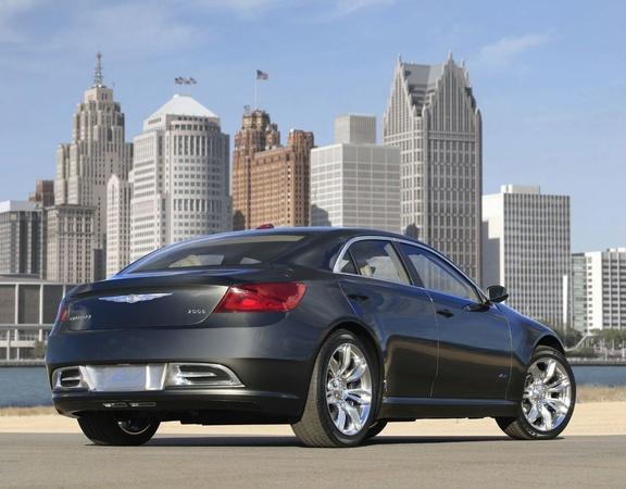 Détroit 2009 : Chrysler 200C EV Concept