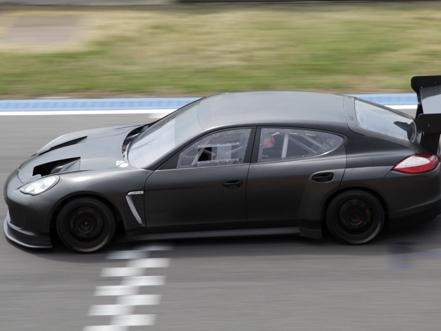 Porsche Panamera de compétition - De nouvelles photos