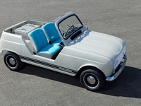 Renault dévoile une 4L électrique