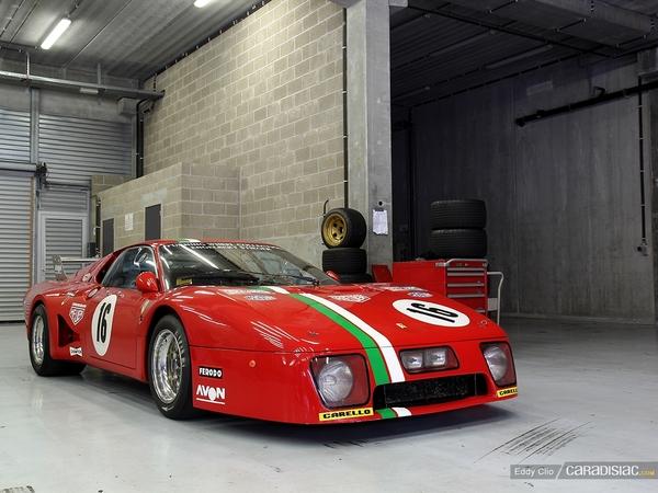 Photos du jour : Ferrari 512 BB LM (Modena Track Days)